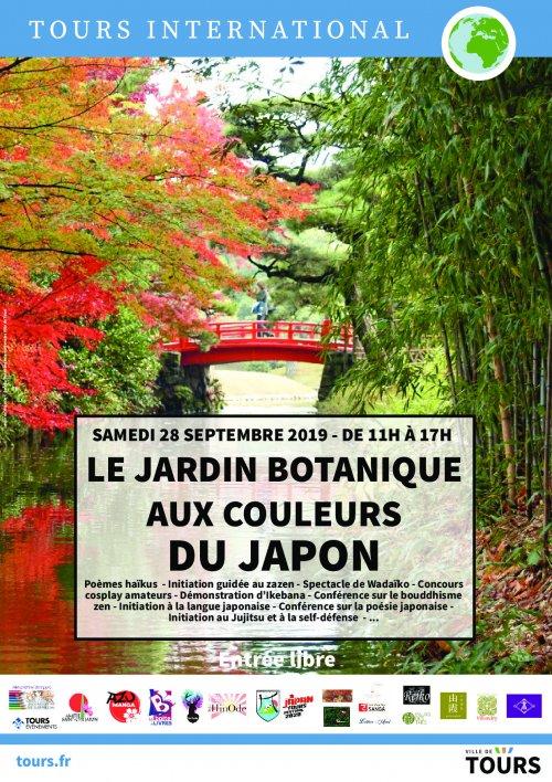 Tours Le Jardin Botanique Aux Couleurs Du Japon 28 Septembre 2018